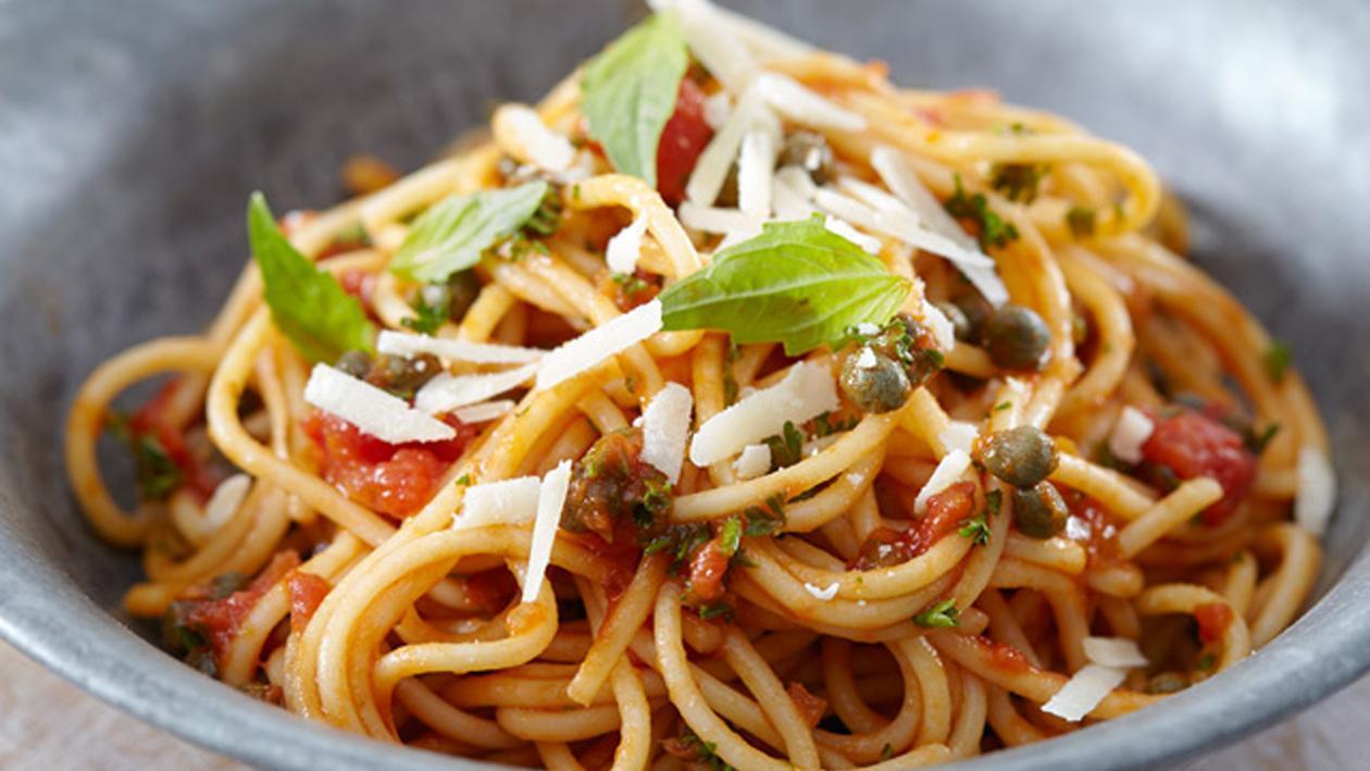 Snacksken - spaghetti